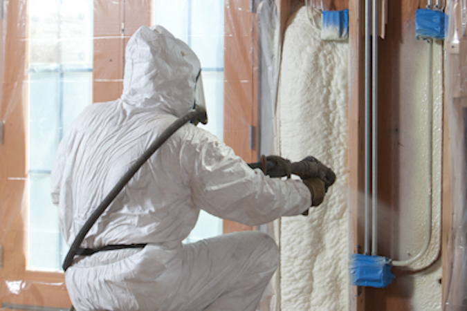 Diy Spray Foam Insulation Cost And Equipment Kits Blown
